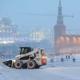Штормовое предупреждение в Москве из-за метели