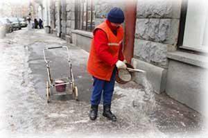 Применение технической соли